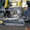 The Vogele paver with a special electronic leveling system